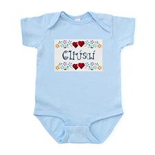 'Flirt' (Gaelic) Infant Creeper