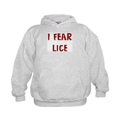 I Fear LICE Kids Hoodie