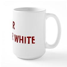 I Fear THE COLOR WHITE Mug