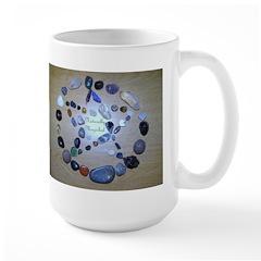 Naturally Magickal Pentacle of Stones Mug