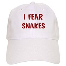 I Fear SNAKES Baseball Cap