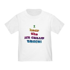 Fun Ice Cream Truck Saying  T
