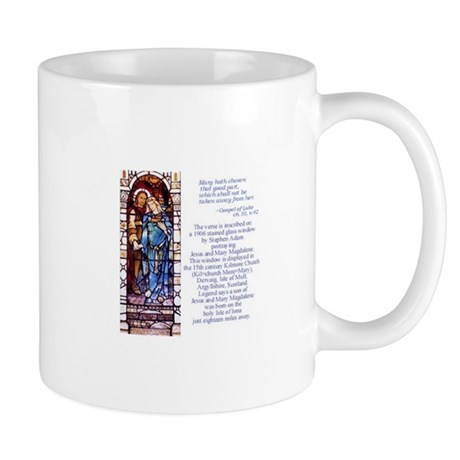 Jesus and Mary Magdalene coffee mug