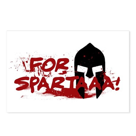 For Sparta! Postcards (Package of 8)