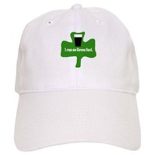 I run on green fuel Baseball Cap