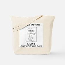 Dual Message Tote Bag