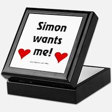 Idol Simon Wants Me Keepsake Box