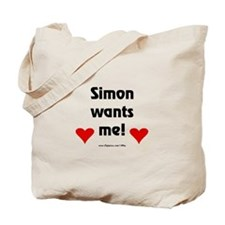 Idol Simon Wants Me Tote Bag