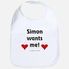 Idol Simon Wants Me Bib