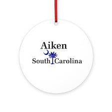Aiken South Carolina Ornament (Round)