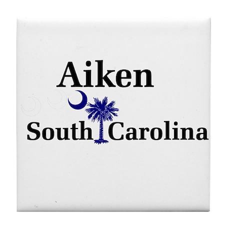 Aiken South Carolina Tile Coaster