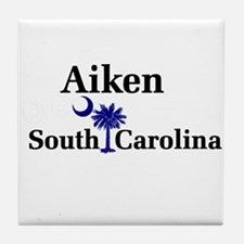 Aiken South Carolina Tile Coaster