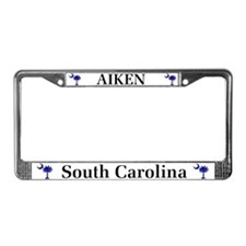 Aiken SC License Plate Frame
