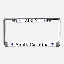 Aiken SC License Plate Frame