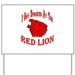 Red Lion Yard Sign