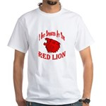 Red Lion White T-Shirt