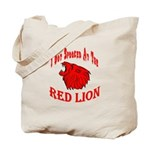 Red Lion Tote Bag
