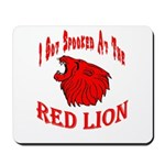 Red Lion Mousepad