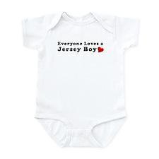 Jersey Boy Valentines Day T-s Infant Bodysuit