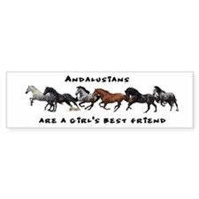 Andalusian Bumper Bumper Sticker