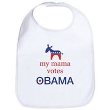 Mama Votes Obama Bib