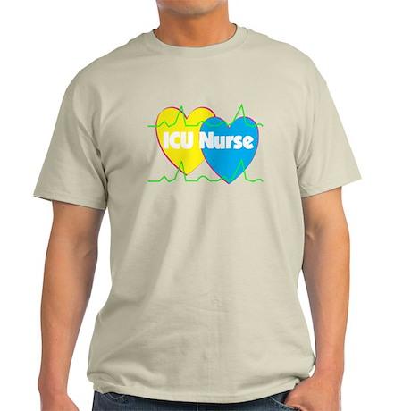 ICU Nurse Light T-Shirt