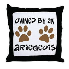 Owned By An Ariegeois Throw Pillow