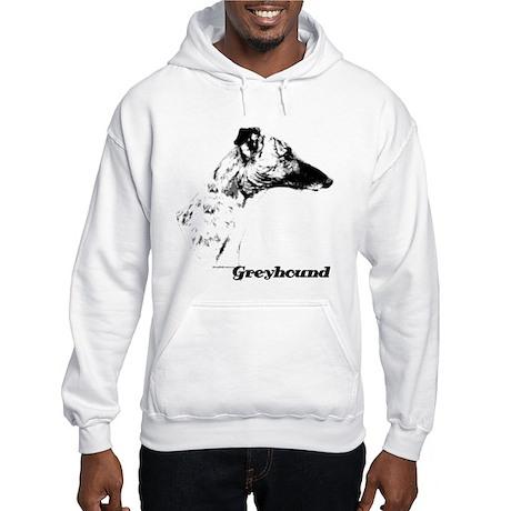 Greyhound Charcoal Hooded Sweatshirt