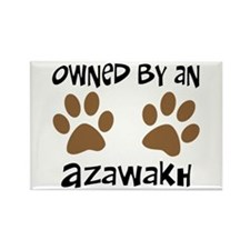 Owned By An Azawakh Rectangle Magnet (10 pack)