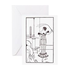 FemDom Greeting Card