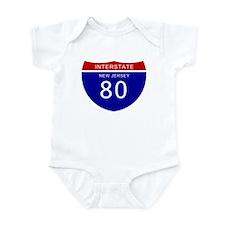 Interstate 80 Traffic Cameras Infant Bodysuit