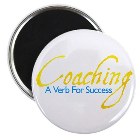 "Success in Gold and Blue 2.25"" Magnet (100 pack)"