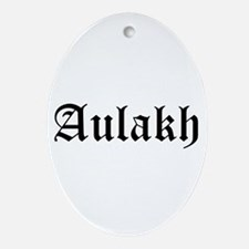 Aulakh Oval Ornament