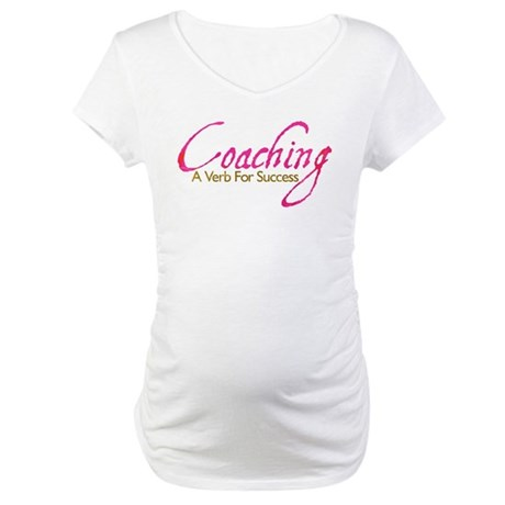 Success in Pink and Mocha Maternity T-Shirt