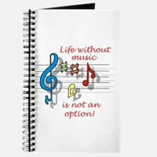 Life Without Music Journal