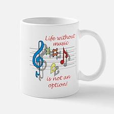 Life Without Music Mug