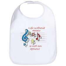 Life Without Music Bib