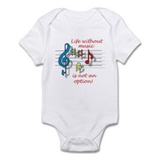 Life Without Music Infant Bodysuit