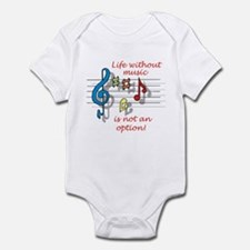 Life Without Music Onesie