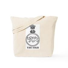 The Sikh Regiment Emblem Tote Bag