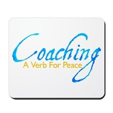 Coaching: Blue and Gold Mousepad