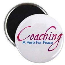 Coaching: Purple and Blue Magnet