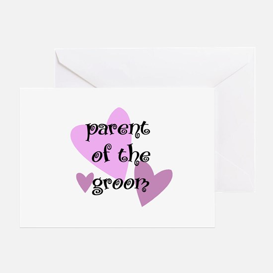 Parent of the Groom Greeting Card