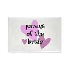 Parent of the Bride Rectangle Magnet