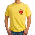 BAE Twilight Saga Yellow T-Shirt