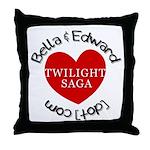 BAE Twilight Saga Throw Pillow