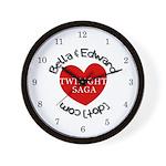 BAE Twilight Saga Wall Clock