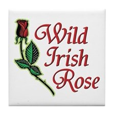 Wild irish Rose - Tile Coaster