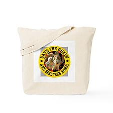 REPATRIATE THE SQUIRRELS Tote Bag