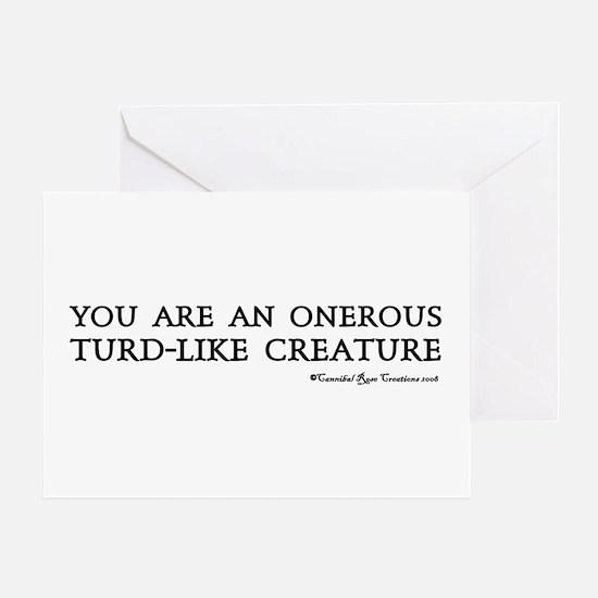 (Un)Pleasantries Greeting Card